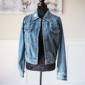 Mossimo Denim Jeans Jacket Size M